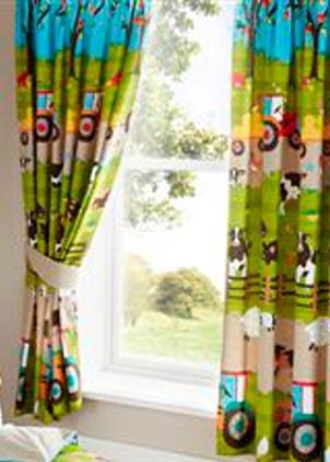 Childrens Farmyard Curtains