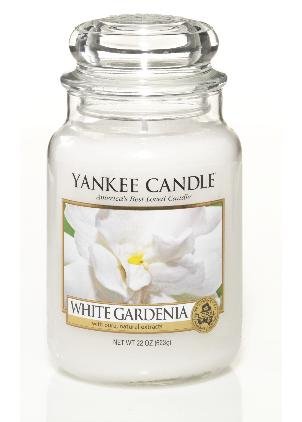 White Gardenia Large Jar