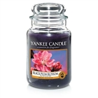 Black Plum Blossom Large Candle