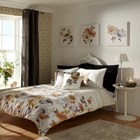 In Bloom Caramel King Duvet Set